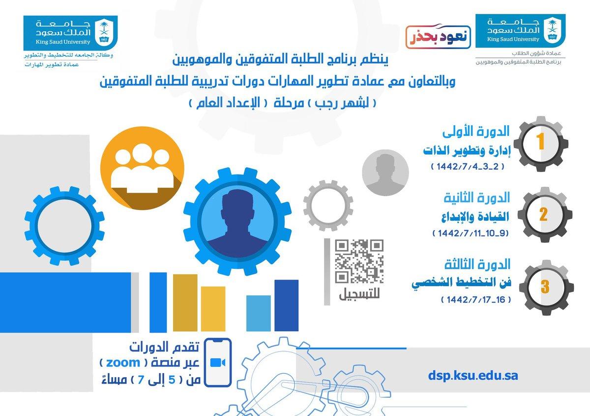 مركز الحاسب وتنمية المهارات للتدريب Ksucsd Twitter