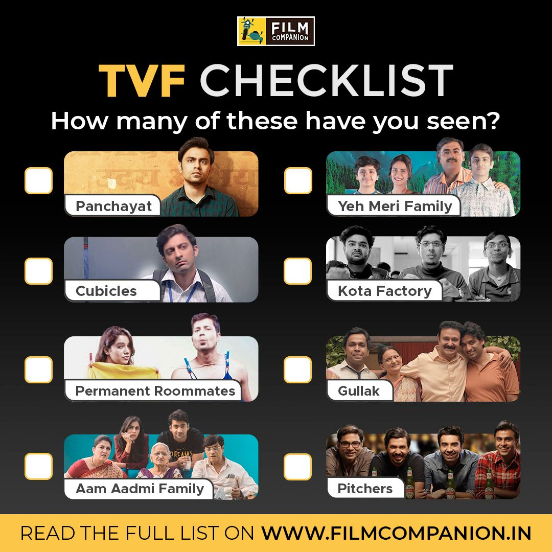 Almost a decade of hits and misses later, the institution of @TheViralFever is still an enduring presence in the middle-Indian millennial heart. @ReelReptile ranks their best shows.  https://t.co/aF7aMdCdTG https://t.co/wVRVb3602z