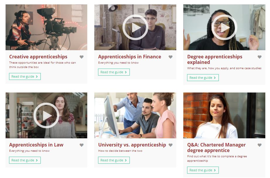 This week is National Apprenticeships Week.    If you are interested in finding out about apprenticeship opportunities, use this link:  https://t.co/L4E8iuHOog  Unifrog also has some very useful information: