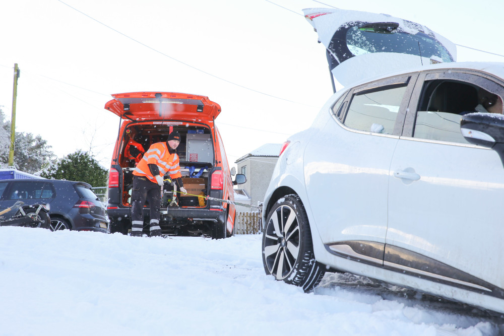 Latest advice for drivers from the RAC as snow affects east of the UK https://t.co/73zsIVODnG https://t.co/riRqIXeN1C