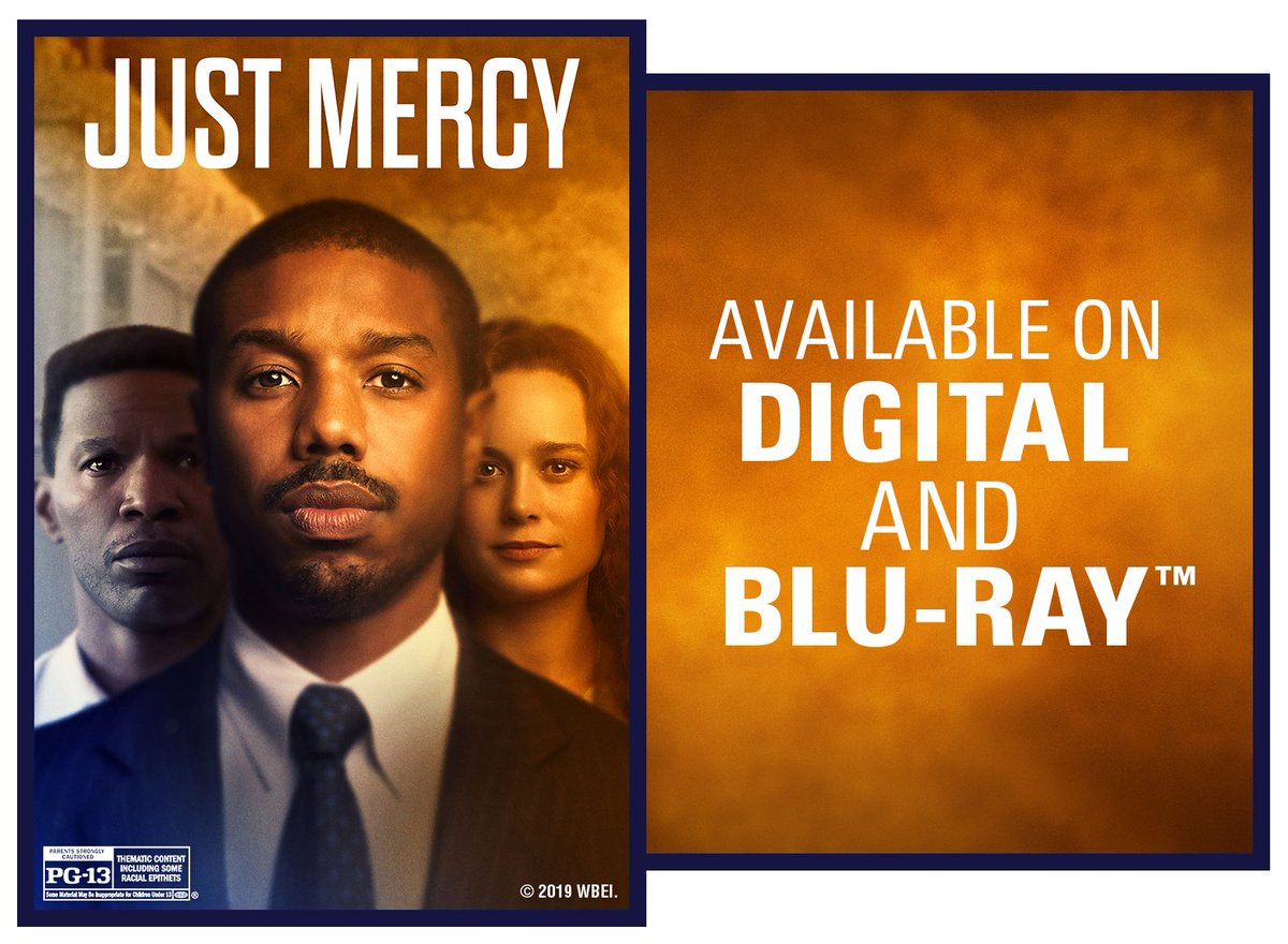 .@eji_org  is committed to ending mass incarceration,  challenging racial and economic injustice, and protecting human rights for the most vulnerable. Learn more with your students by watching @WBHomeEnt's @JustMercyFilm. #JustMercy