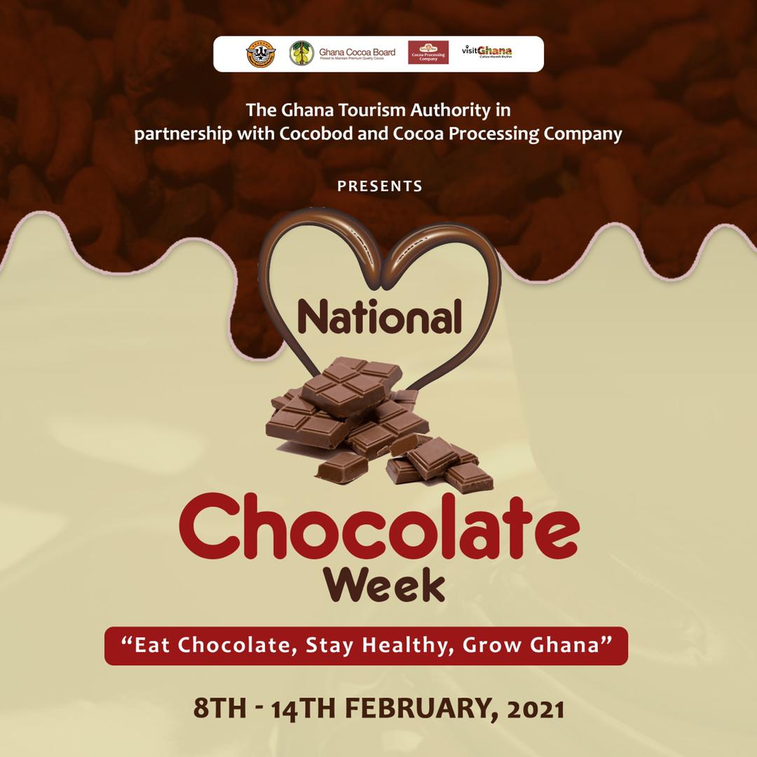 """The countdown is on for the 2021 Chocolate Day celebration. #EatChocolateStayHealthyGrowGhana #chocolateday #mondaythoughts #MondayMotivation "" #Exploregh #ghanatravel #visitghana #BeyondTheReturn"