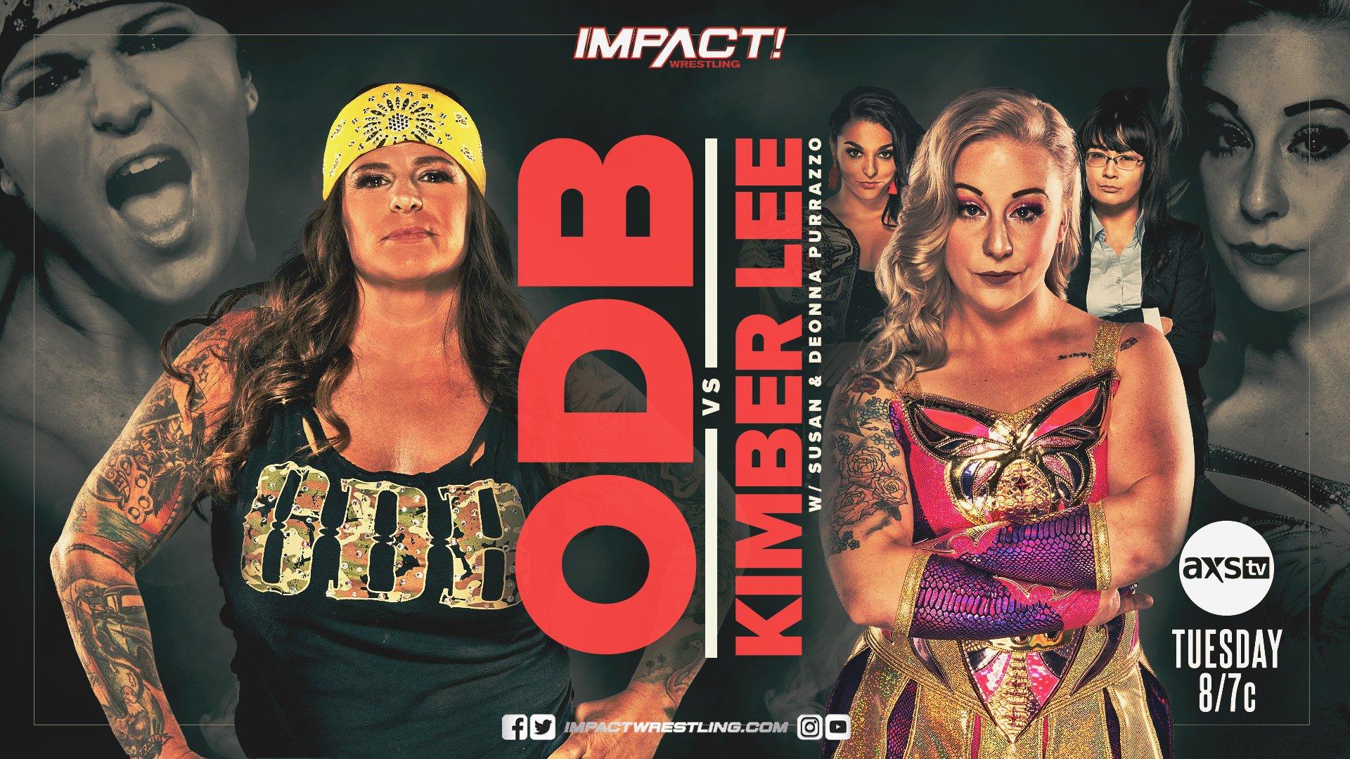 ODB Kimber Lee IMPACT Wrestling