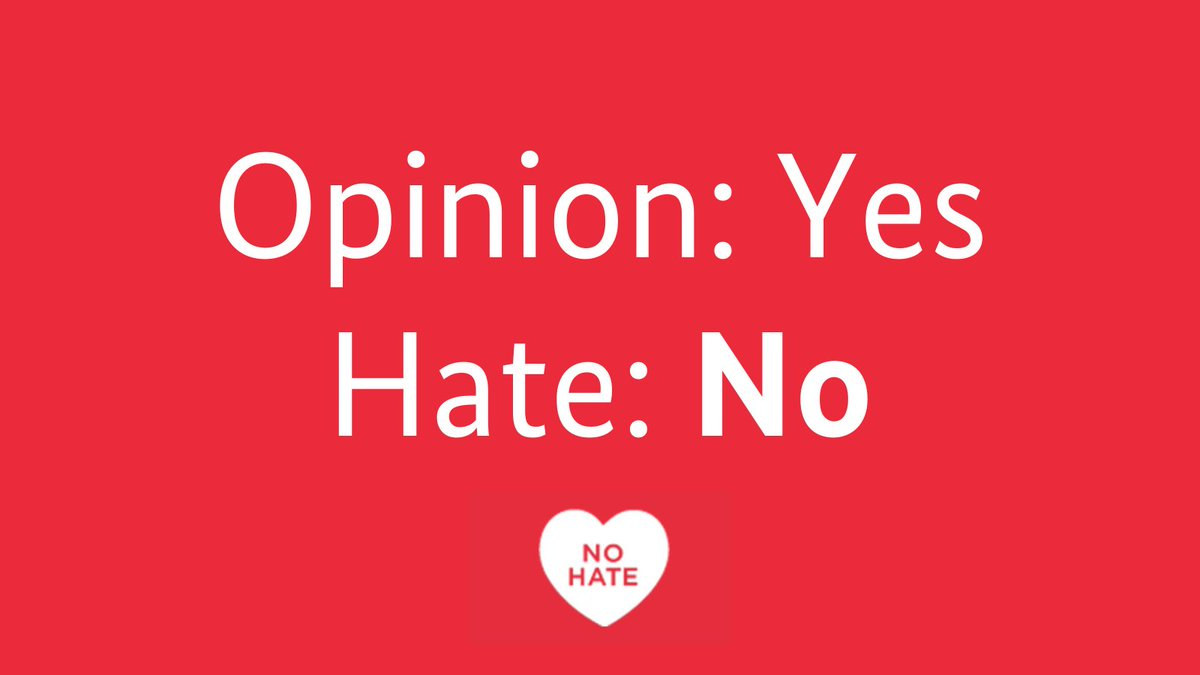 No Hate Speech Movement (@nohate_speech) | Twitter