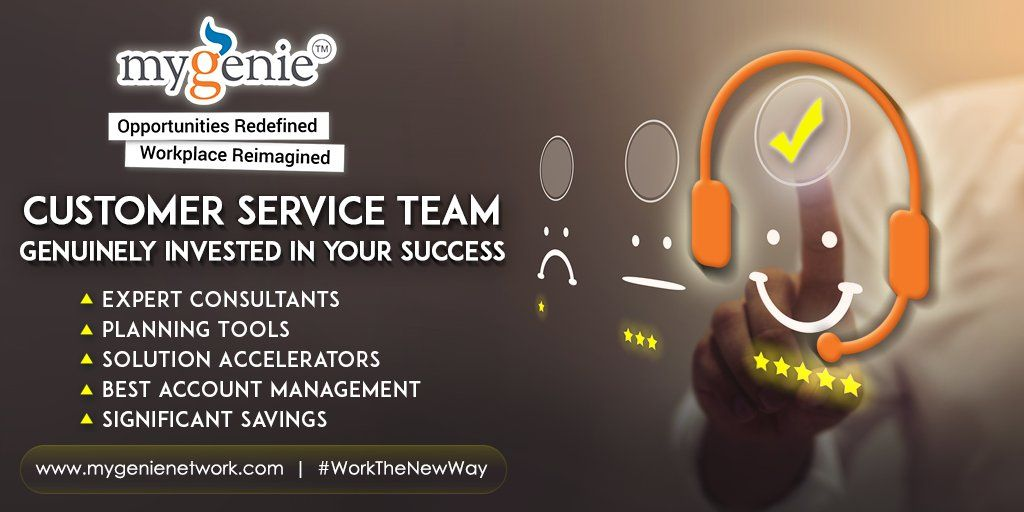 MyGenie Network relentlessly works for the success of the customers by providing world-class account management services.  Register today-   #customerservice #service #management #software #operations #strategy #accountmanager #customerexperience