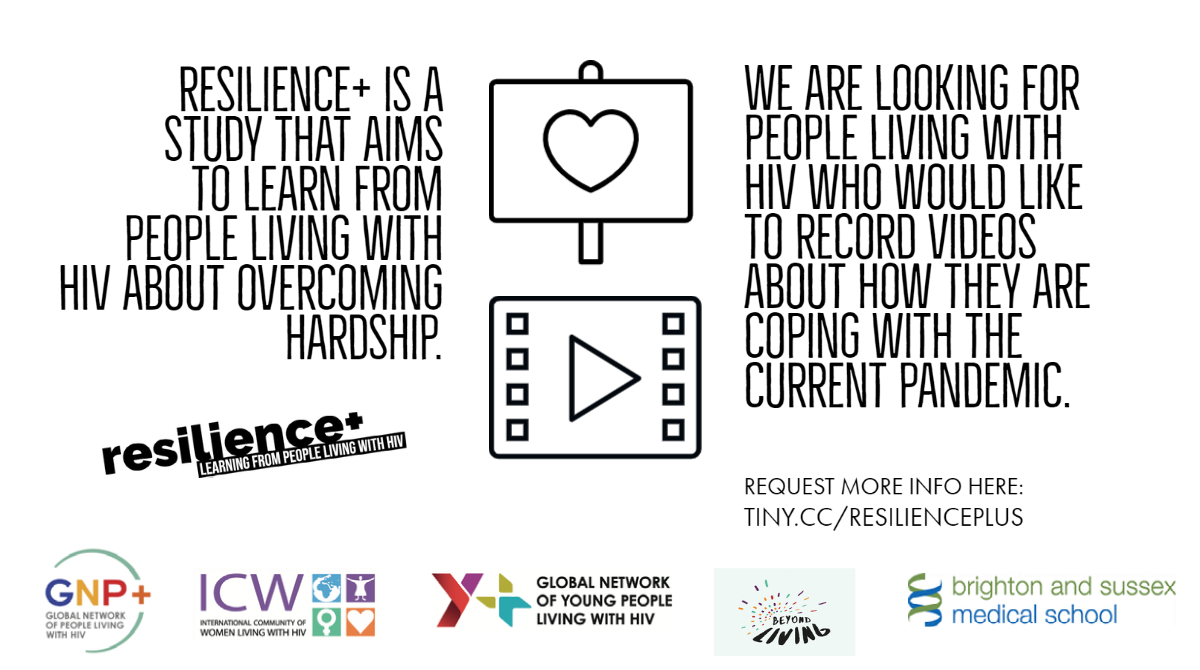 📢📢📢 We are looking for people living with #HIV who would like to record videos about how they are coping during the #Covid-19 #pandemic.  We won't show your videos to anyone without your permission.   Would you like to take part? Request more info here