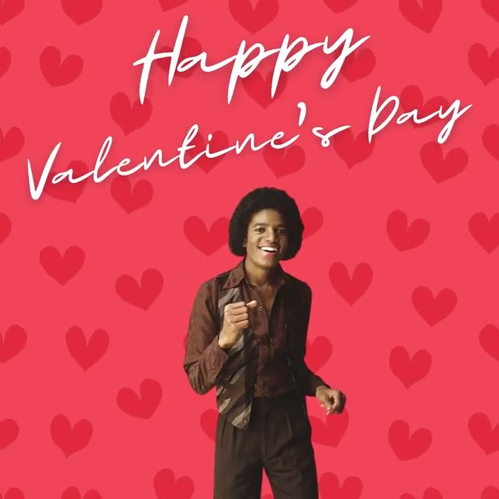 """Happy Valentine's Day! What's your favorite love song from Michael?   Play the """"Michael Jackson - Love Songs"""" playlist on Spotify and dedicate a song to someone special today:"""