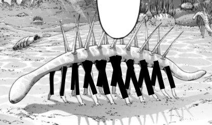 Resultado de imagem para shingeki no kyojin 137 Hallucigenia