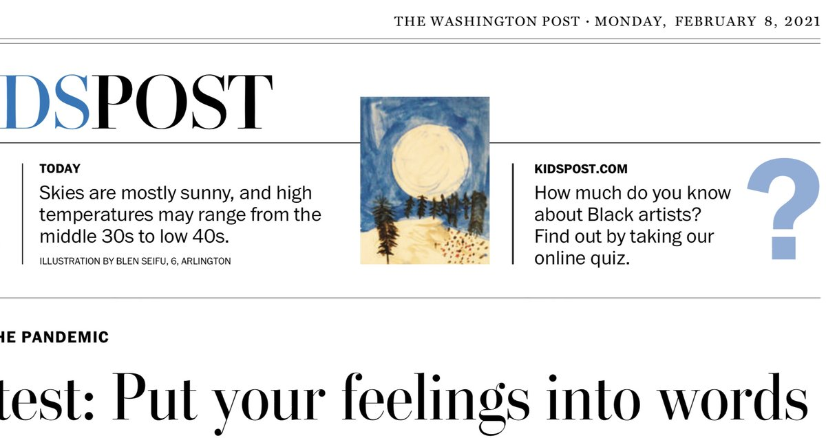 Congratulations to this ATS kindergarten artist who's work was published in the KidsPost! We are very proud of you!    <a target='_blank' href='http://twitter.com/washingtonpost'>@washingtonpost</a> <a target='_blank' href='http://twitter.com/APS_ATS'>@APS_ATS</a> <a target='_blank' href='http://twitter.com/APSArts'>@APSArts</a> <a target='_blank' href='http://twitter.com/perezartlove'>@perezartlove</a> <a target='_blank' href='http://search.twitter.com/search?q=APSartsthrive'><a target='_blank' href='https://twitter.com/hashtag/APSartsthrive?src=hash'>#APSartsthrive</a></a> <a target='_blank' href='http://twitter.com/ATS_KTeam'>@ATS_KTeam</a> <a target='_blank' href='https://t.co/EPbKhtEm4R'>https://t.co/EPbKhtEm4R</a>