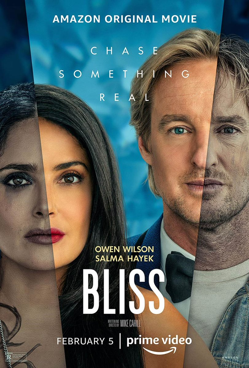 Very much enjoyed #blissmovie with @salmahayek & #owenwilson. Go watch these heavy hitters crush it. #BlissMovie Also @PrimeVideo did something very cool. They partnered with @TheLAMission to provide 10,000 meals(yes 10,000) to people who are in need. Dang good. #blissmovie