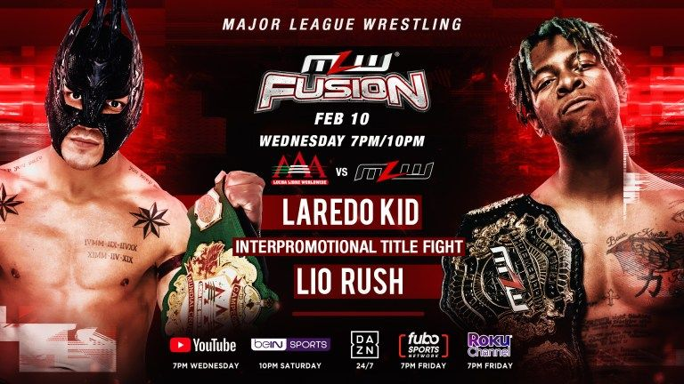 MLW Fusion Preview (2/10): Historic Title Vs. Title Main Event, Brian Pillman Jr. Takes On ACH, More
