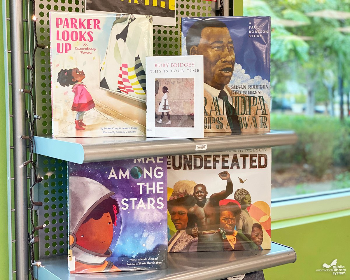 In celebration of #BlackHistoryMonth, this month's staff picks for kids share the inspiring stories of role models who show all children that, despite the obstacles ahead, they can pursue their dreams with courage. Check them out! #MDPLSStaffPicks https://t.co/qqyG6KAxKo https://t.co/YVPC95ylet