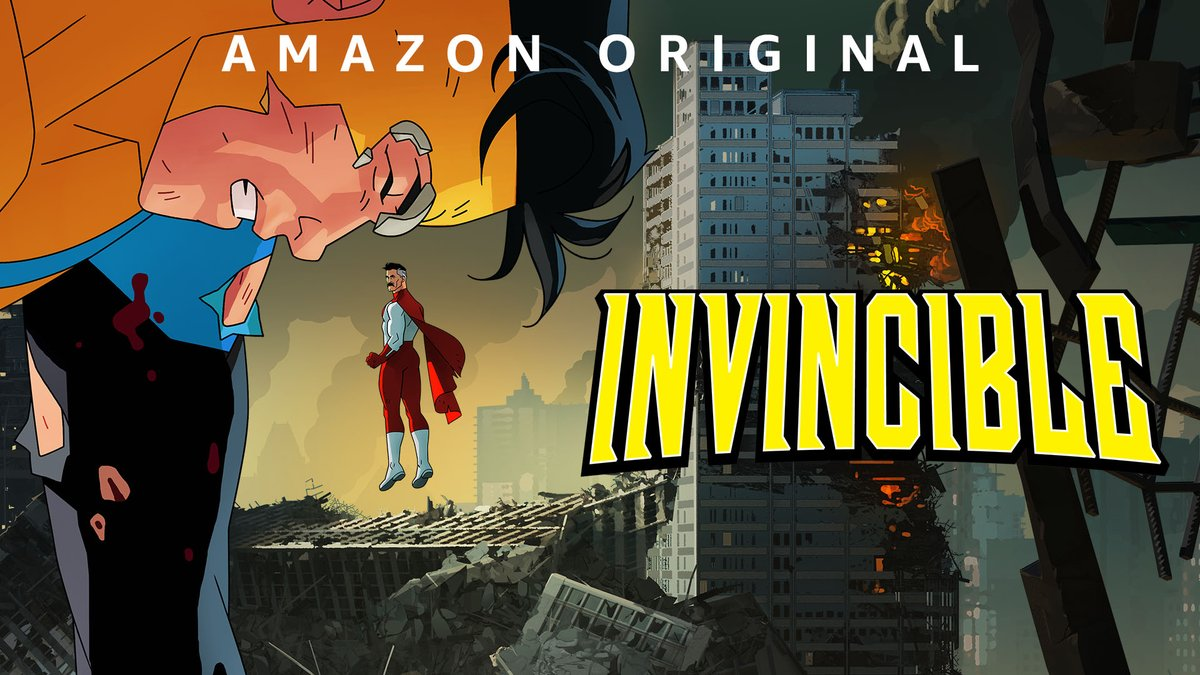 The best superhero comic in the universe is about to be an hour-long episodic series. Invincible arrives March 26.  (Y'all have no idea what you're in for.)