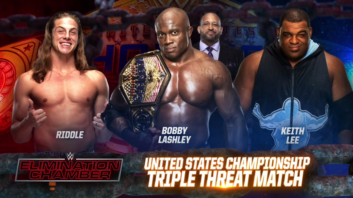 Big United States Title Triple Threat Announced For Elimination Chamber