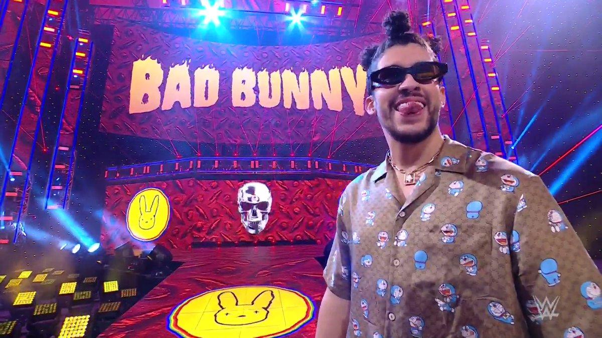 krusty el payaso baby 😂❤jaja que flow de🔥#badbunny be be be 🔥🔥🐇@sanbenito #WWE