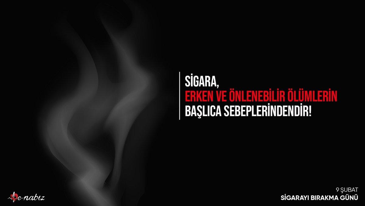 Sağlıklı bir gelecek için sigarayı bırakmanın #TamZamanı #SigarayıBırakmaGünü