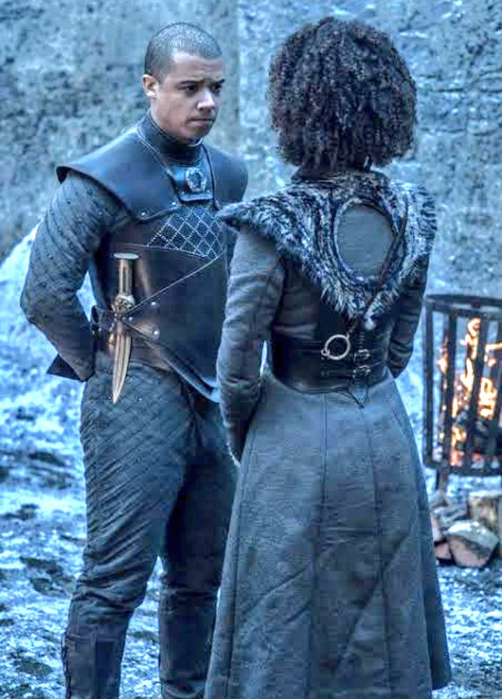 'I apologize for the Missandei Standing at my end'
