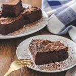 オーブン不要で電子レンジがあれば作れちゃう!バレンタインにもおすすめな「生ガトーショコラ」のレシピ!
