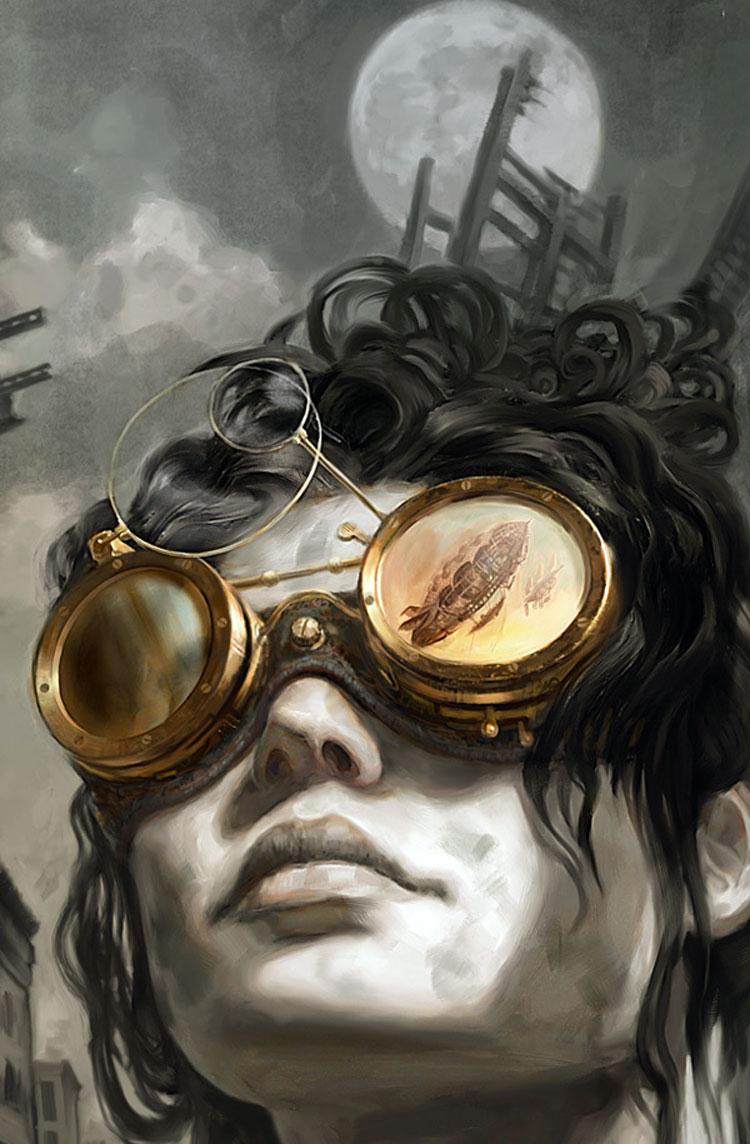 Jon Foster è un illustratore , disegnatore e scultore freelance americano. È conosciuto per le sue copertine di fumetti (DC Comics , Dark Horse Comics) e altri lavori presenti in Dungeons & Dragons e Alternity. #Steampunk #Steampunkillustration