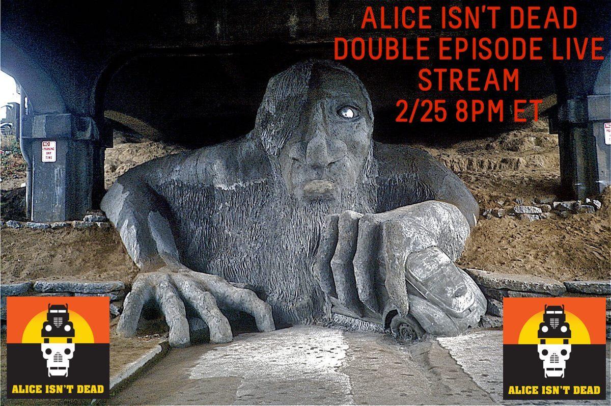 Alice Isn't Dead AlicePodcast   Twitter