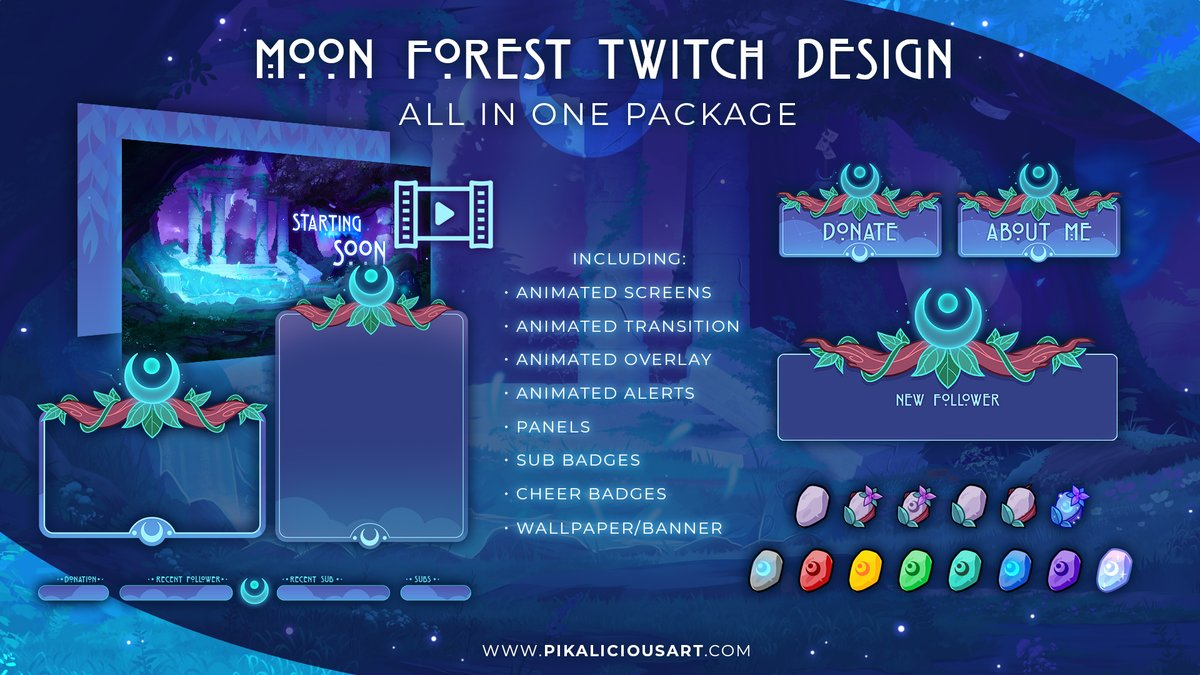 🌟Twitch Package Giveaway🌟 The winner gets to pick 1 of my All in One Twitch Packages. If we hit the 4k followers I will raffle an additional Screen Package☺️ How to enter: 🥳Like and RT this post🥳 *Giveaway ends at Feb 20th