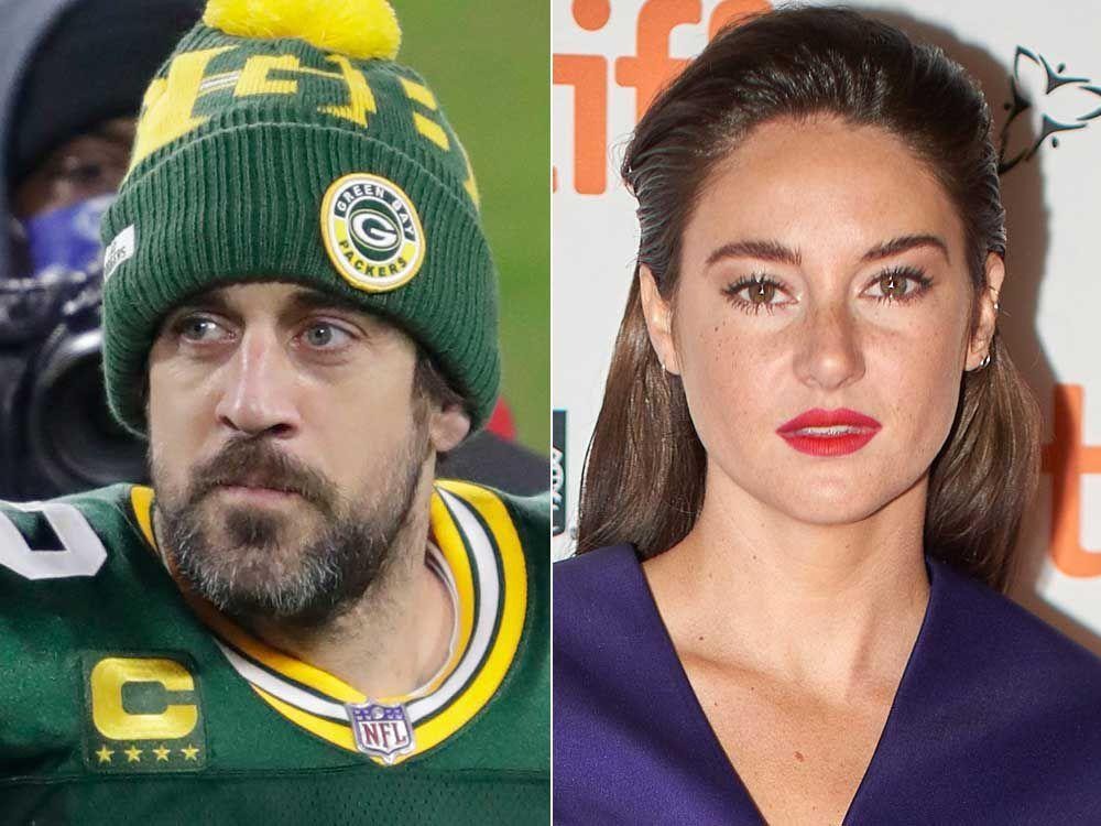 Aaron Rodgers engaged days after Shailene Woodley romance news breaks