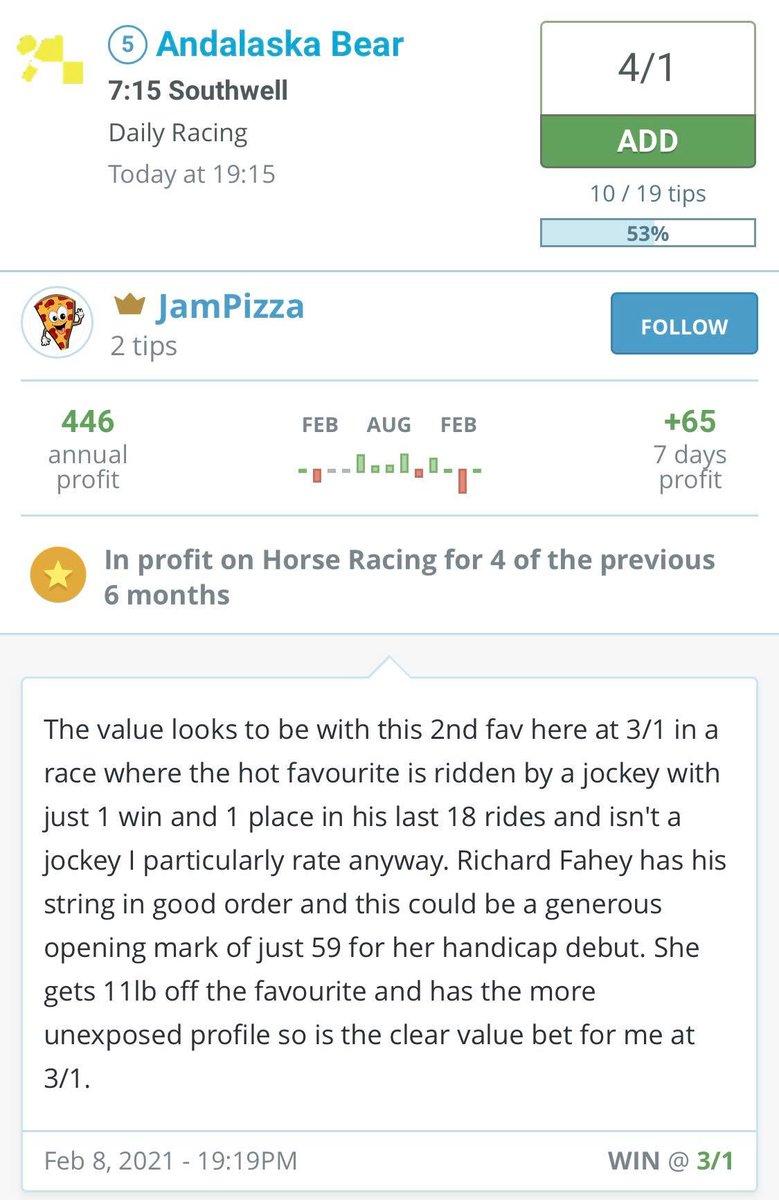 uk betting tips twitter stock