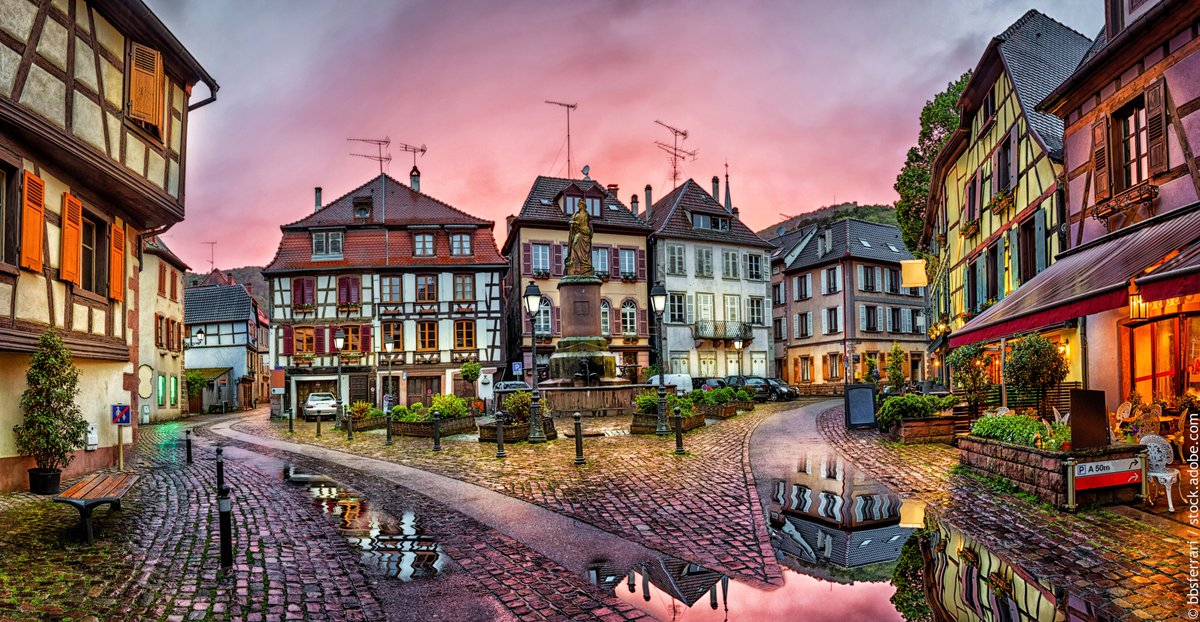 Coucher de soleil sur le Pays de Ribeauvillé et Riquewihr… L'un des lieux les plus romantiques !! 😍 https://t.co/stTL367kjV #Alsace #VisitAlsace #DrinkAlsace https://t.co/DeO735om5r