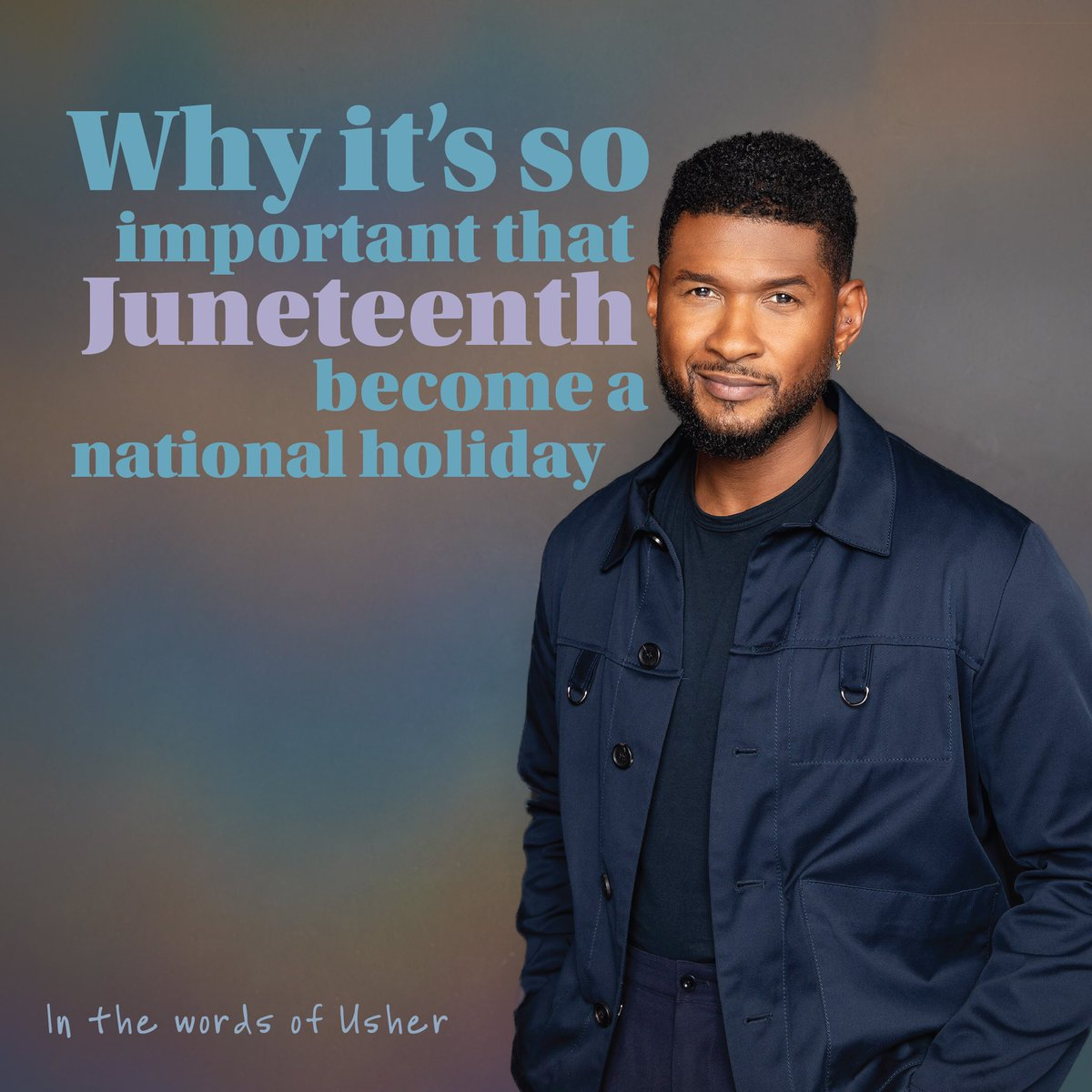 .@Usher: Why it's so important that Juneteenth become a national holiday (June 2020 Op-Ed in the @washingtonpost)