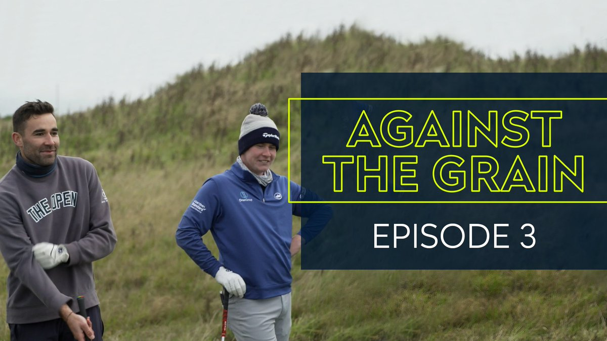 Have you watched Episode 3️⃣ of Against the Grain? 👀  Watch @Harping_On take on @EuropeanTour star Robert MacIntyre and up and coming pro @GabrielleMacdo2 👉