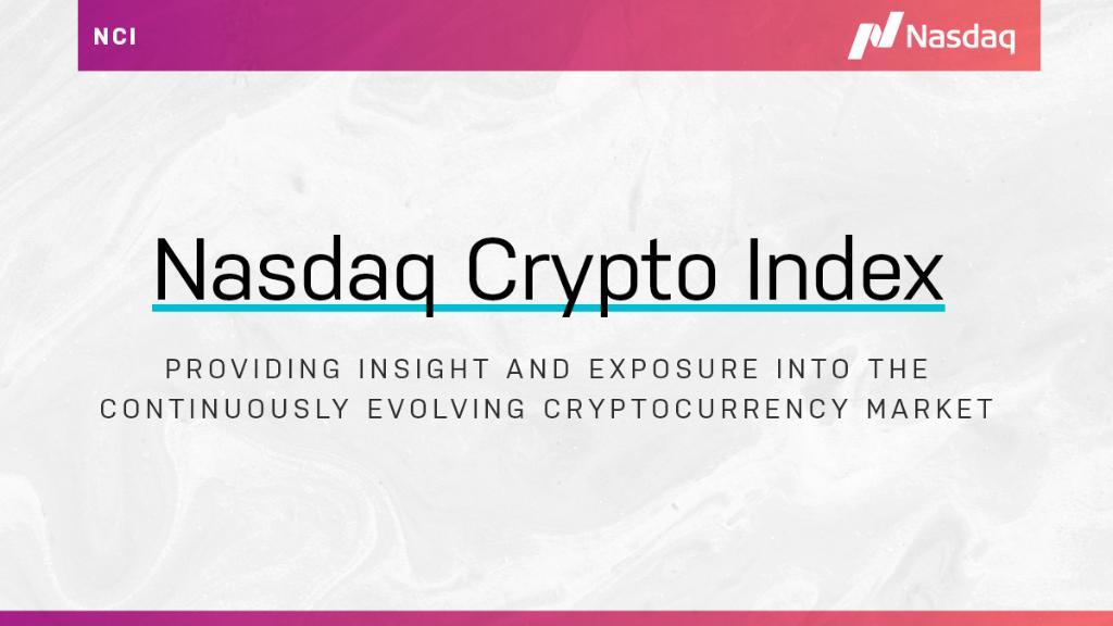 nasdaq crypto index)