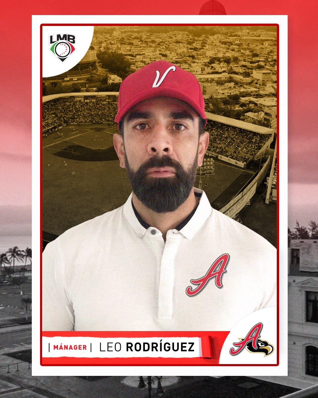 Leo Rodríguez es anunciado como el mánager del Águila de Veracruz, ganó el título de 2012 como jugador del equipo