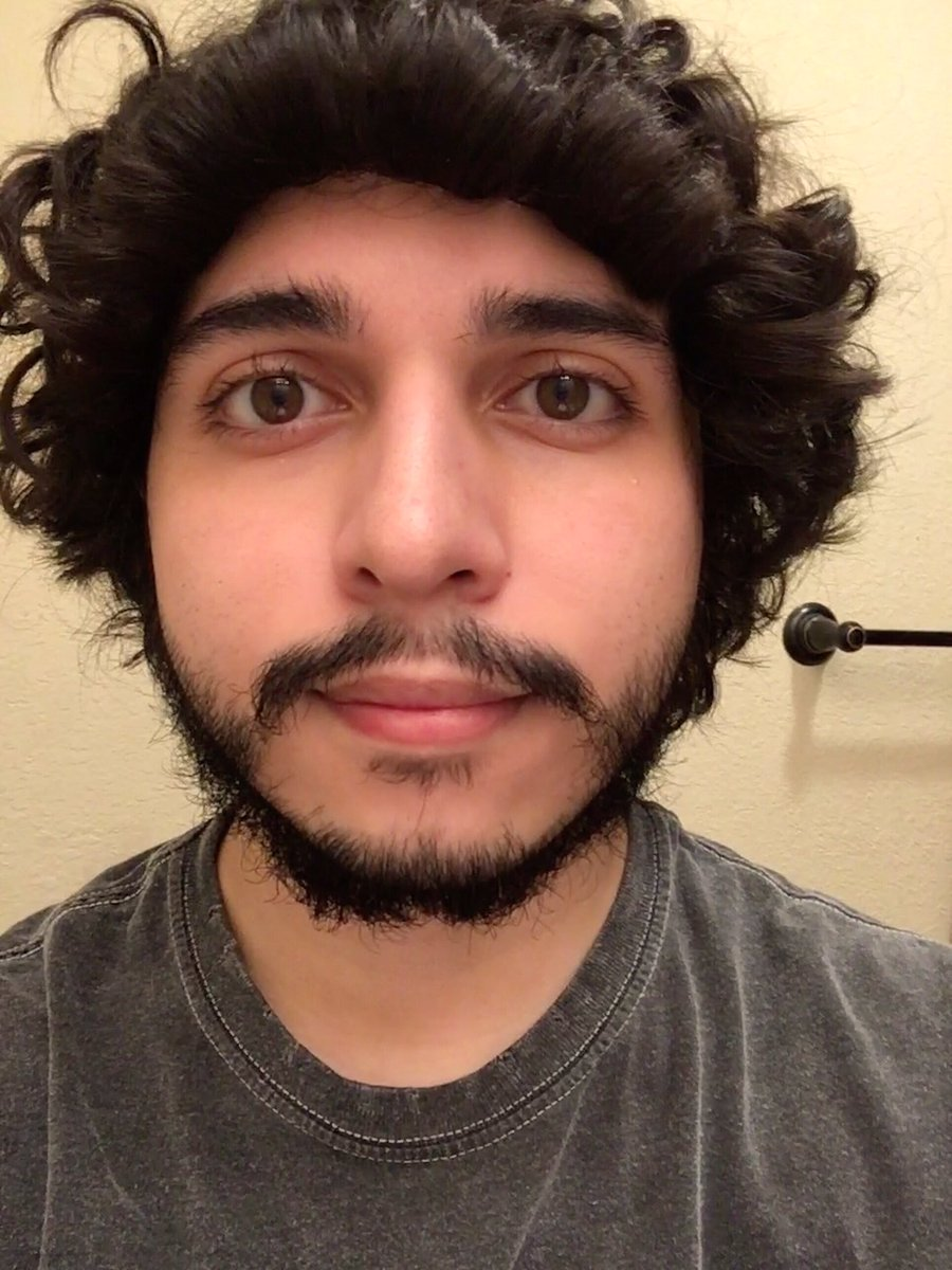 six_cyx - excuse the 3am look (and i suck at selfies) but this is the longest i've had facial hair. i am not sure if i shave or just trim or what i am clueless LOL