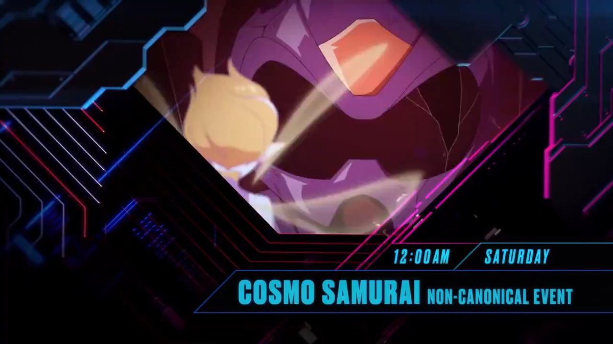 Catch the final part of #CosmoSamurai tonight at midnight! Only #Toonami, on adult swim