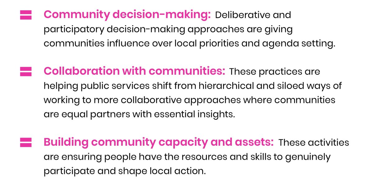 Capacity, collaboration and community decision making are all key, and they are happening at new and huge scales.  Technology can connect people into networks that can reach way beyond the nearness of of geography and physical human interaction. https://t.co/drjGeNX65q