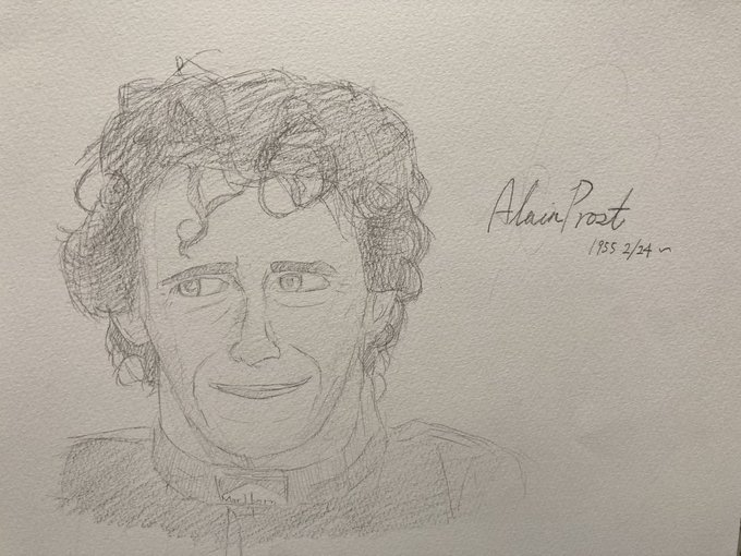 Happy birthday Mr.Alain Prost!
