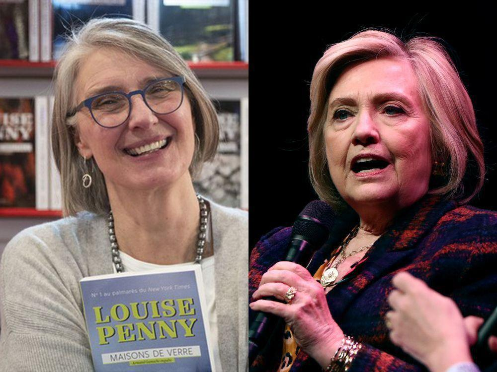 Hillary Clinton, Quebec author Louise Penny teaming up for mystery novel