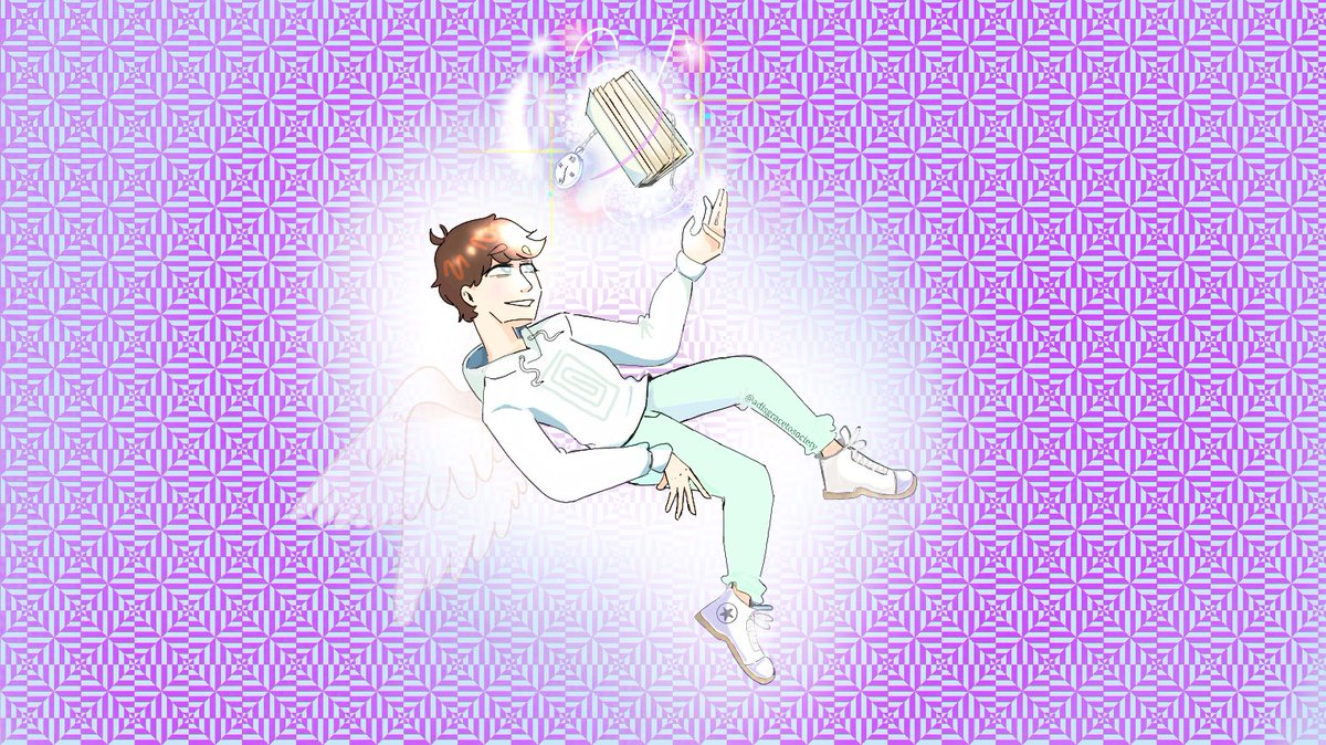 I always imagined Karl as an Angel when he was in the in-between.   #karljacobs #TalesFromTheSMPArt #karljacobsfanart #dreamsmp #dsmp #KARL #mcyt #dreamsmpfanart  @KarlJacobs_ @honkkarl