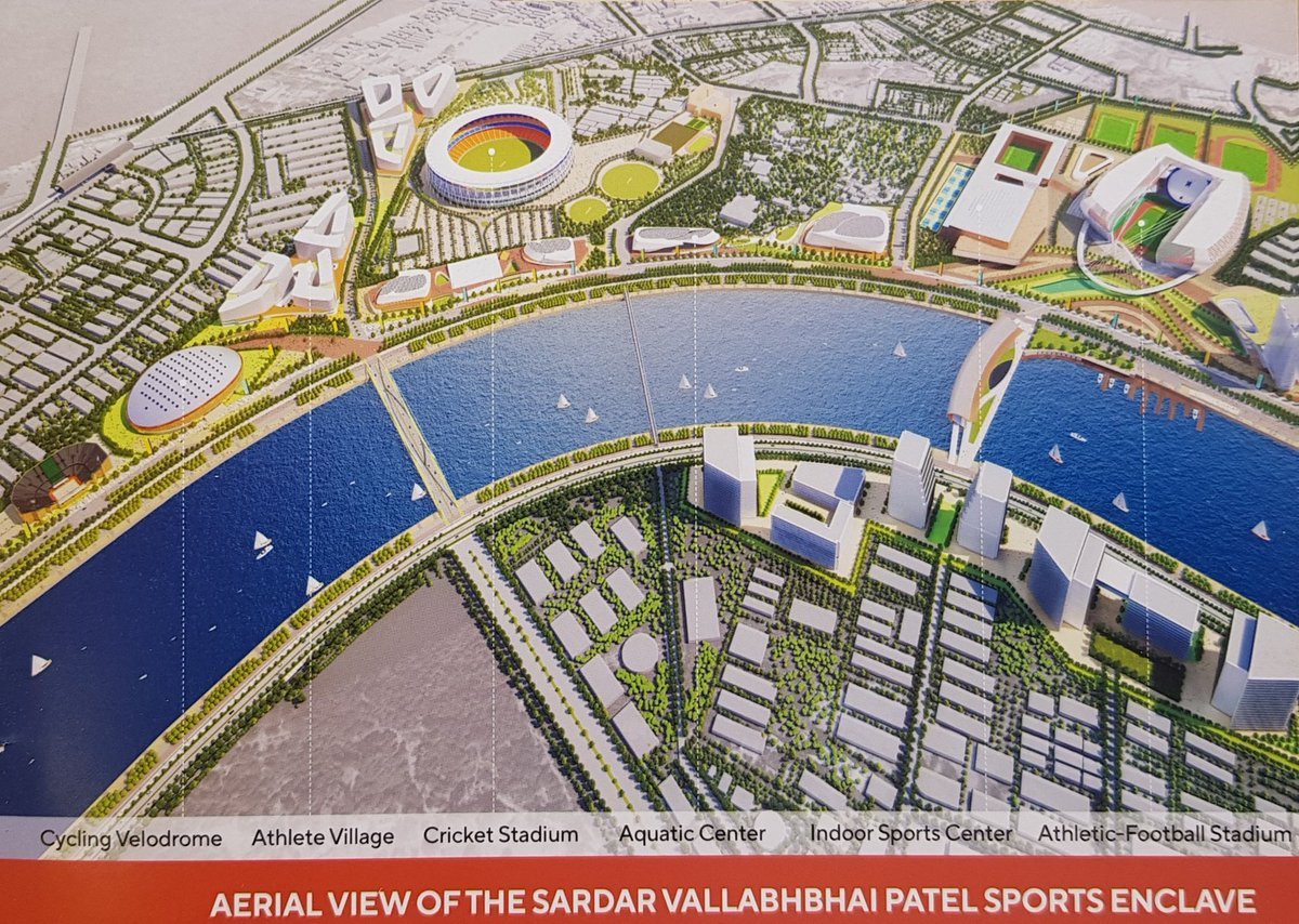 Ahmedabad to become Sports City capable to host Olympic games; Naranpura to have 18 acre Sports Complex: Shah