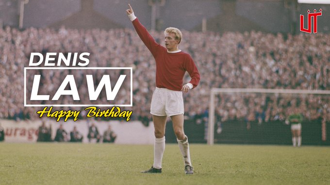 Happy birthday to our legend, Denis Law!