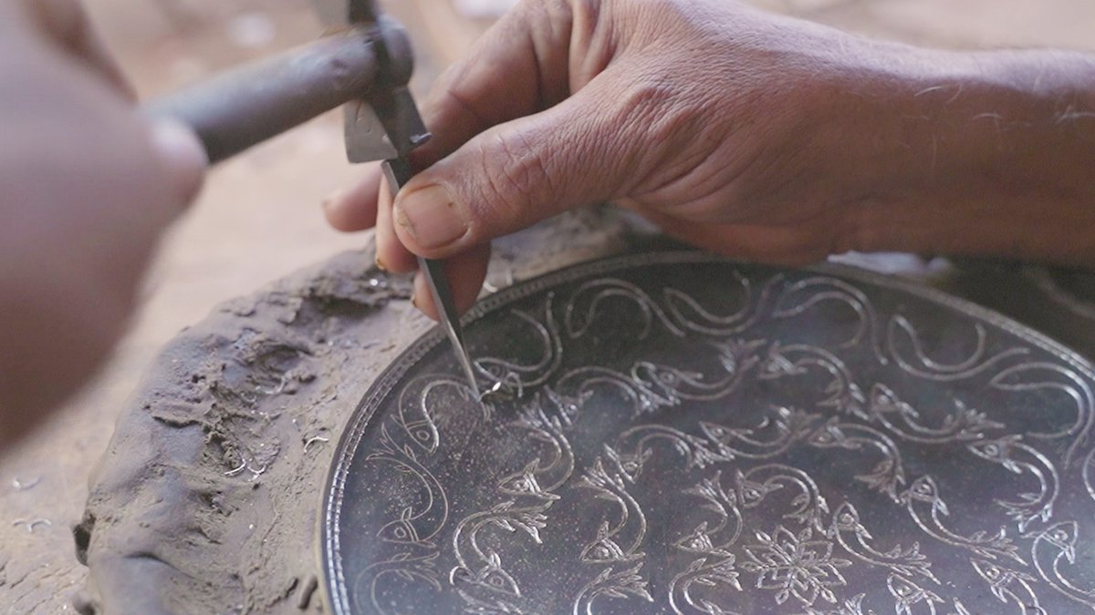 How metal workers in India are keeping a 600-year-old art alive
