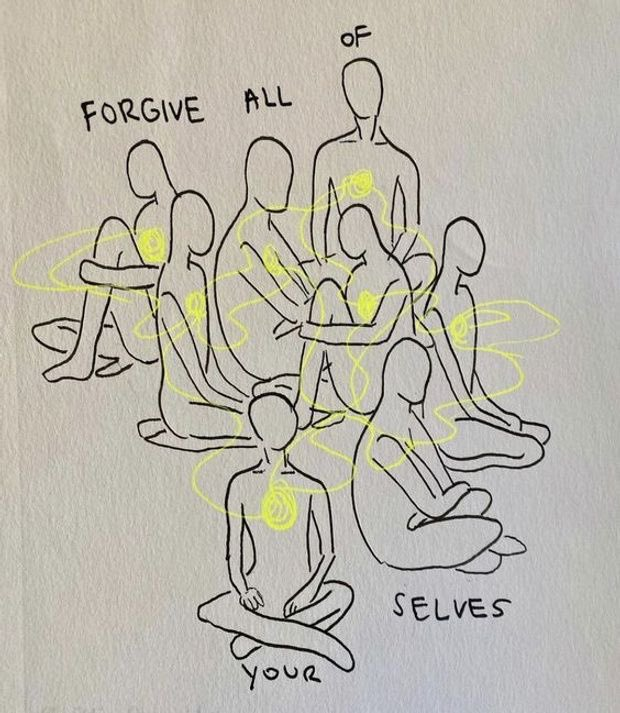 Replying to @anchichis: forgive all of yourselves