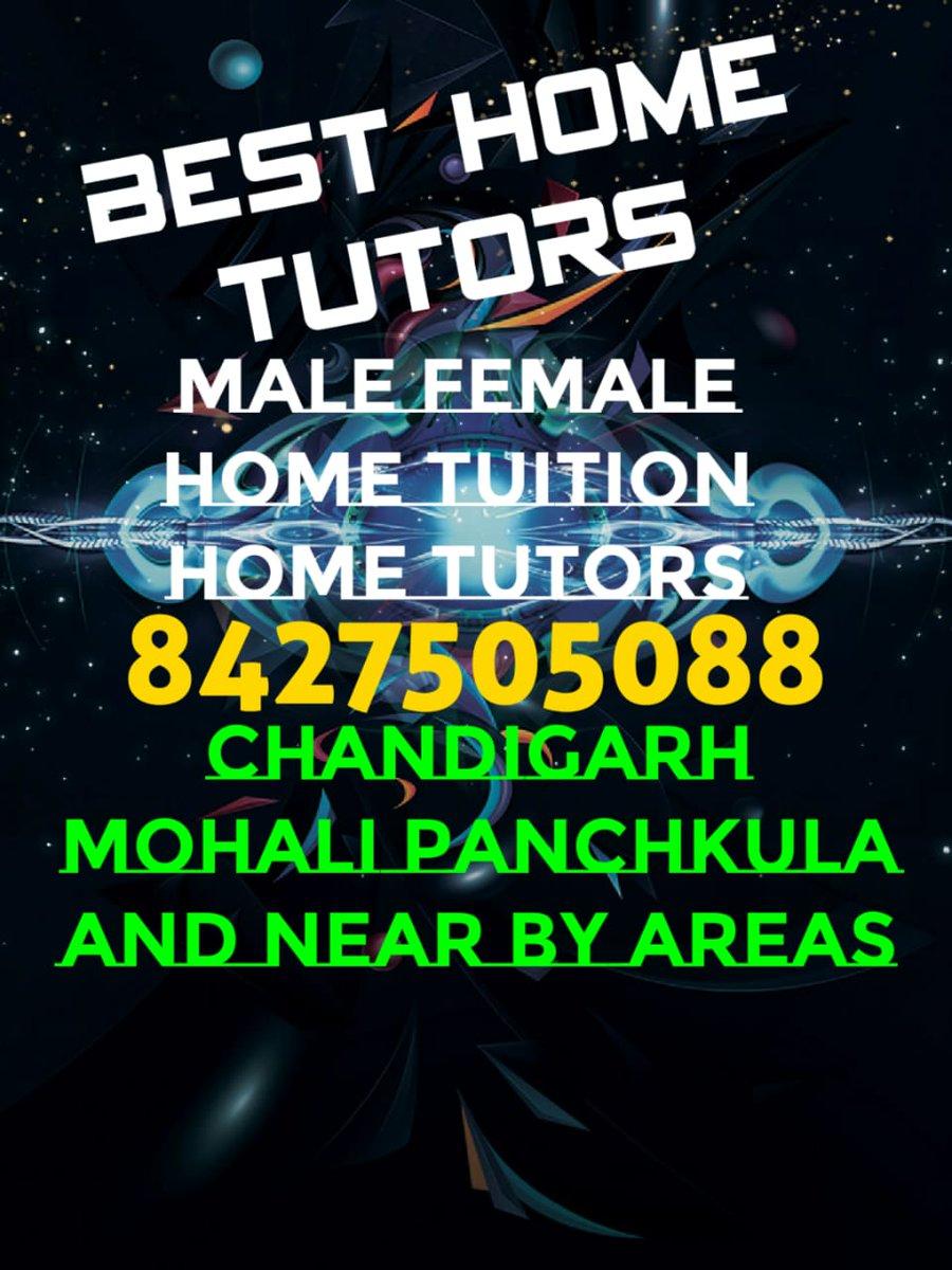 https://t.co/d6eVTvx8VI call us 8427505088 We provide Best Home Tuition 8427505088 in Panchkula, Chandigarh, Mohali, Zirakpur, Landra, Kharar, Dhakoli, manimajra, peermushalla, Chandimandir, Chandimandir Cant, Mansa Devi Complex(MDC ) Derabassi, Amravati, Pinjore, Kalka, Balta... https://t.co/lf4ExfwAGV