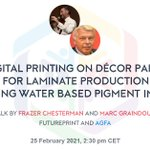 Image for the Tweet beginning: Tomorrow at #FuturePrint Marc Graindourze