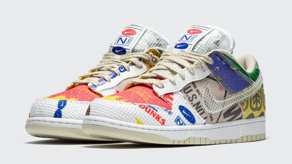 BSTN online raffle live for the Nike Dunk Low SP