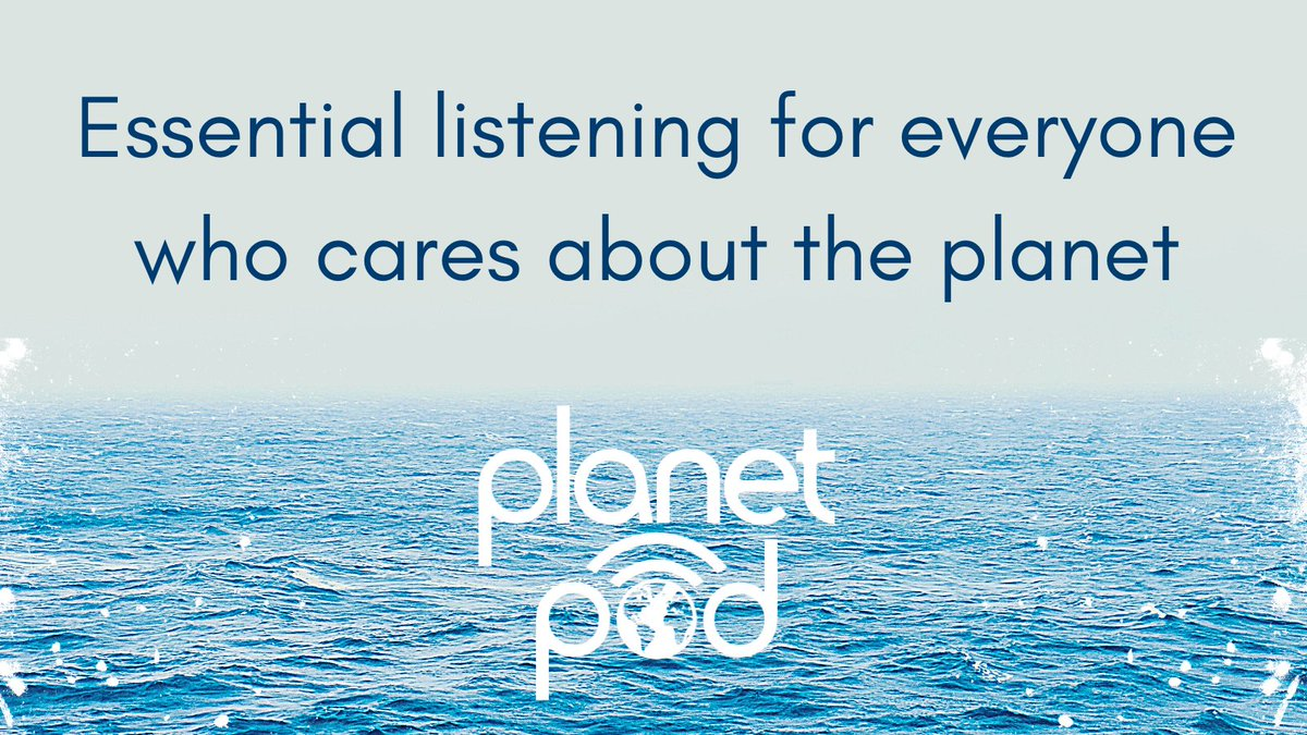 Something to listen to? Try one of our #podcasts!  We explore solutions to the #ClimateEmergency with activists, scientists, farmers, innovators, authors - people passionate about the environment 📢  Explore our library here (it's completely free) 👇