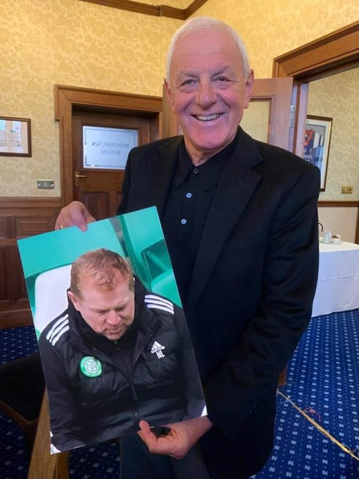 Happy birthday Sir Walter Smith have a great Day love your card