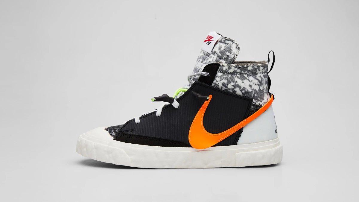 END online raffle live for the Nike x ReadyMade Blazer Mid (CZ3589-001 + CZ3589-100)
