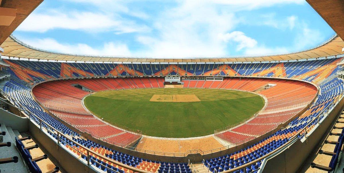 World's largest cricket stadium! Narendra Modi Stadium! #MoteraCricketStadium