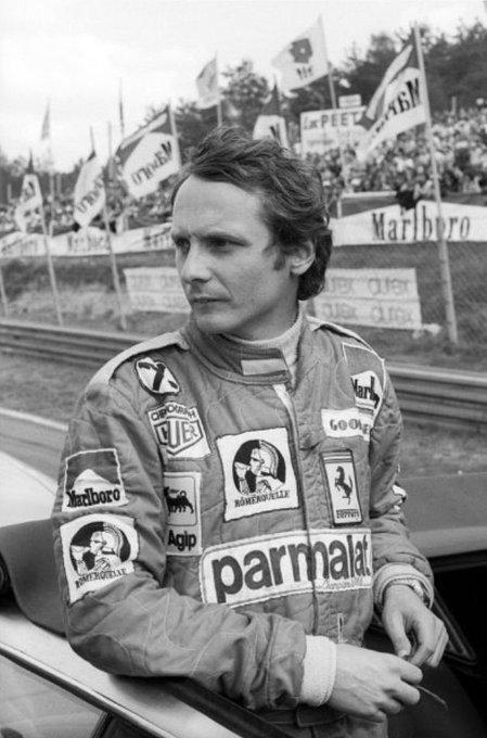 Legends will be never forgotten. Happy birthday to the legendary Niki Lauda.